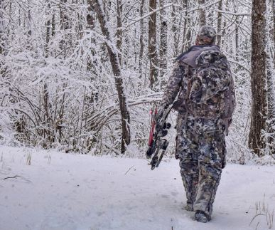 hunting deer