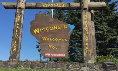 Wisconsin state sign by TnF Videos