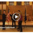 Swearing-in ceremony for Martin Schulteis