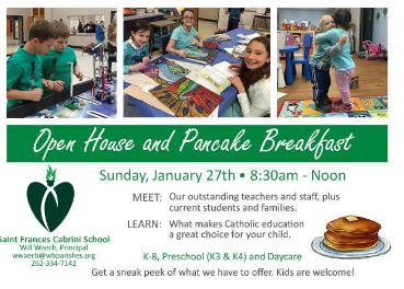 St. Frances Cabrini Pancake Breakfast