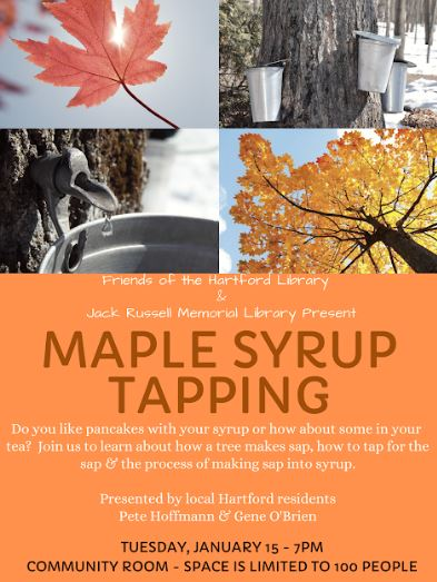 Maple Syrup at Hartford Library