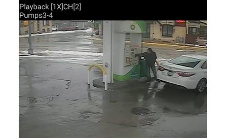 Slinger PD looks for suspect in gas driveoff