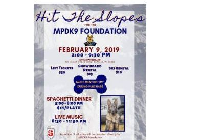 MPD K9 fundraiser at Slinger Ski Hill