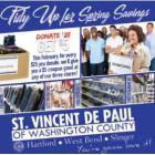 St. Vincent De Paul February sale