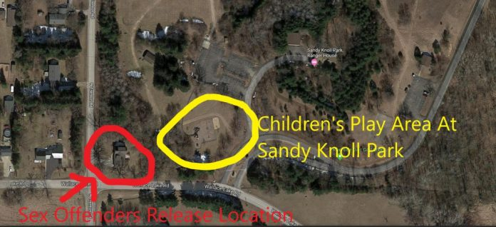 Kenneth Crass Release Location