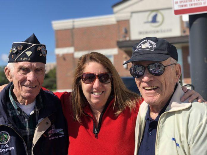 Veterans at Shred Day