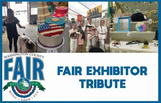 Fair Exhiitor tribute