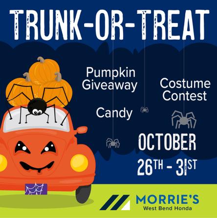 Trunk or Treat at Morrie's Honda