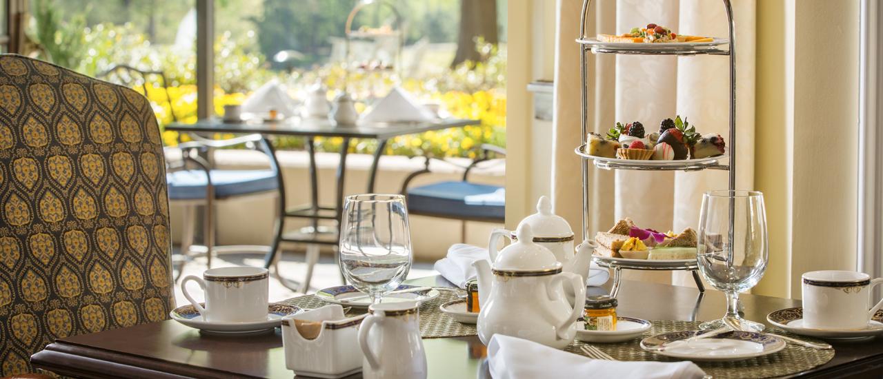 Traditional Afternoon Tea at Washington Duke Inn  Golf Club