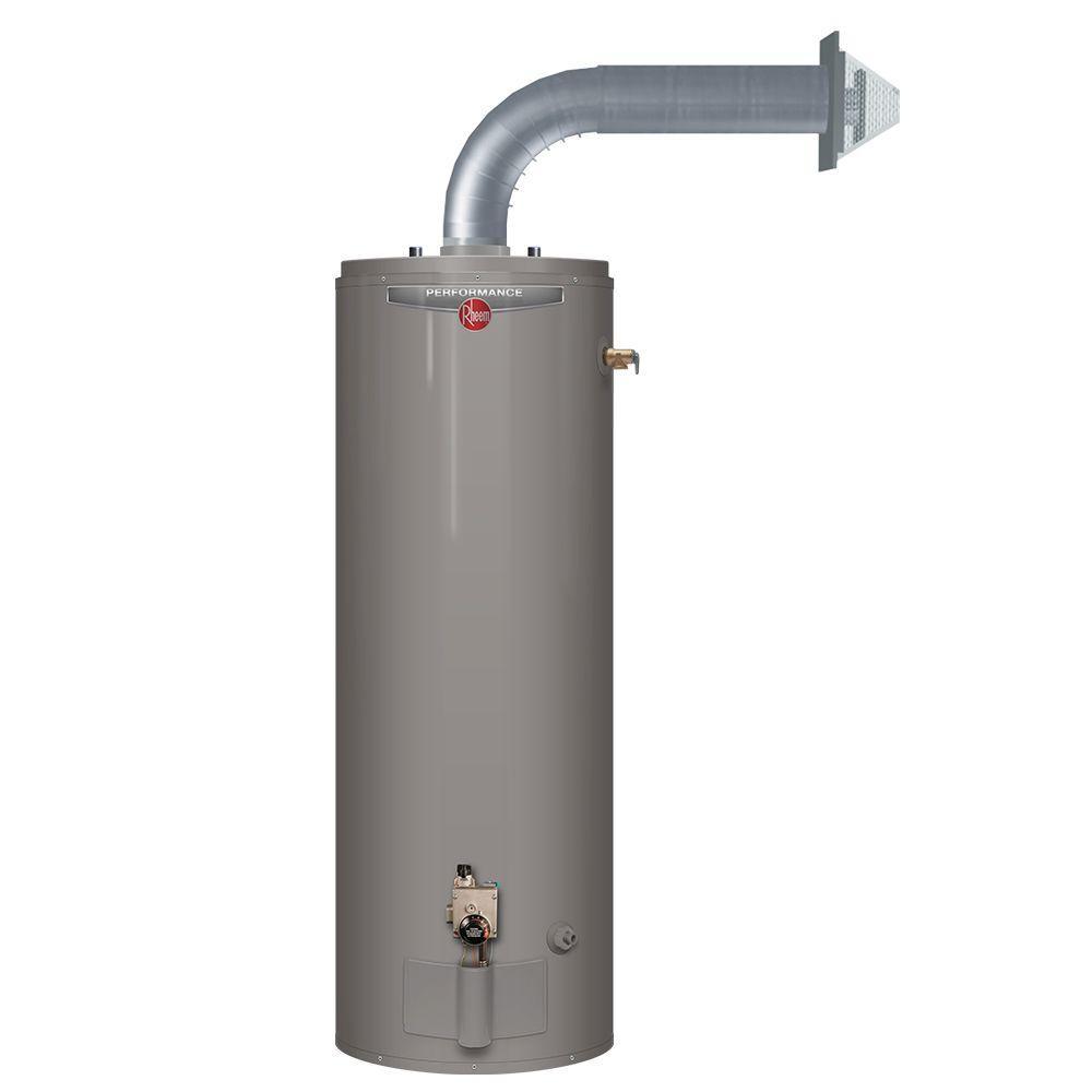 Rheem Gas Water Heater Direct VentPower Vent  Washington Energy Services