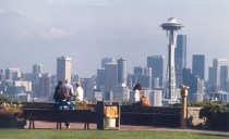 With an unsurpassed view of Elliott Bay and the Central City, with an occasional backdrop of Mount Rainier, Kerry Park is famous for iconic views of the Emerald City.