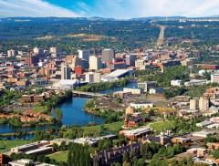 Urban Landscape of Spokane