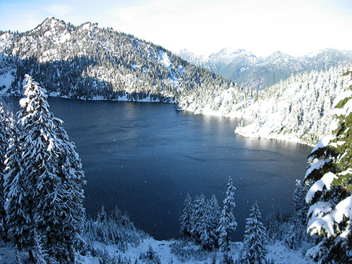 Snow Lake in Mt. Baker-Snoqualmie National Forest. Photo courtesy of Cris Walters.