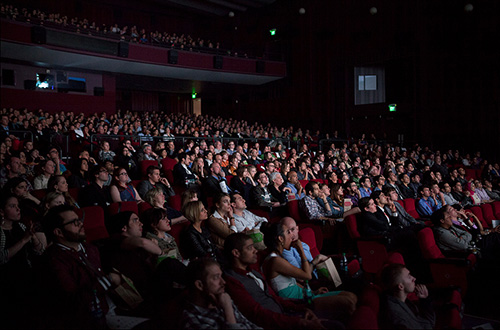 A packed house at NFFTY 2013. Photo courtesy of NFFTY.