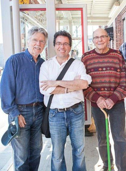 Tom Skerritt, Warren Etheredge, and Stewart Stern.