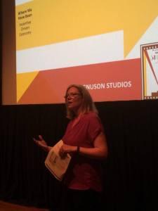 Amy Lillard discusses the Magnuson Studios proposal.