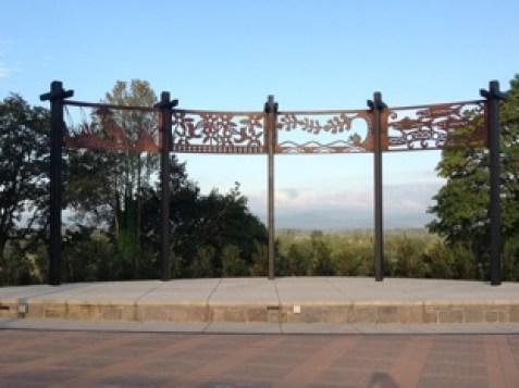 Overlook Park art panels