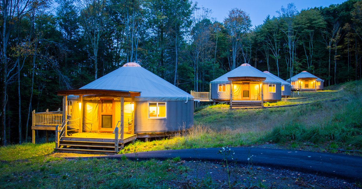 DCArea Camping Spots for Glampers Nature Lovers and