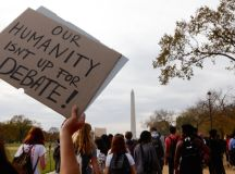 DC Schoolkids Walked Out of School to Protest Trump's Election