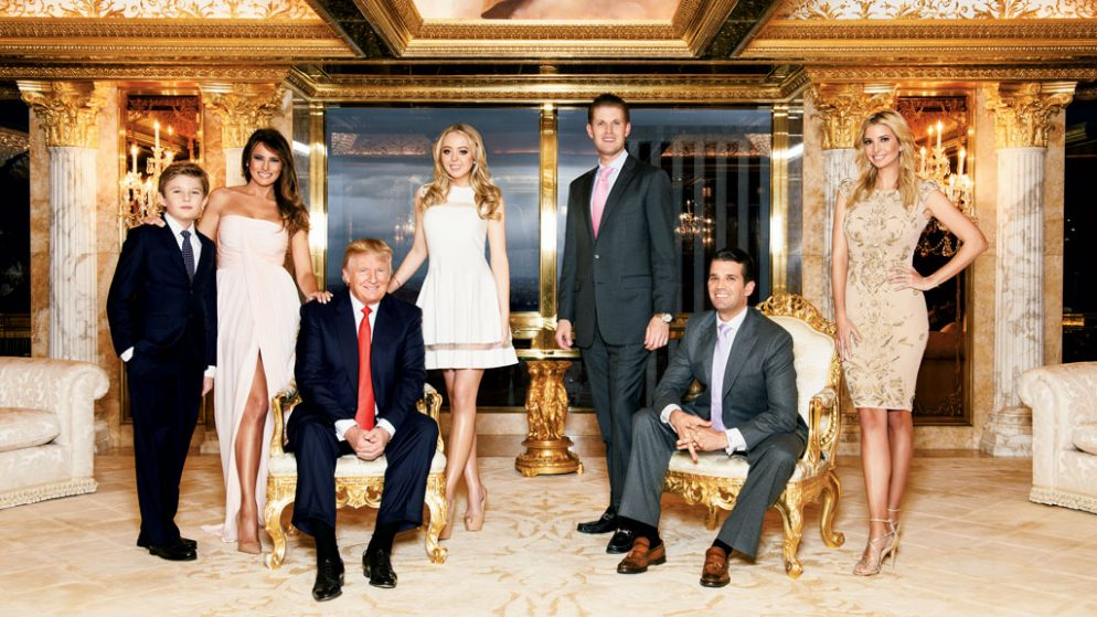How Likely Are You to See the Trumps Around DC