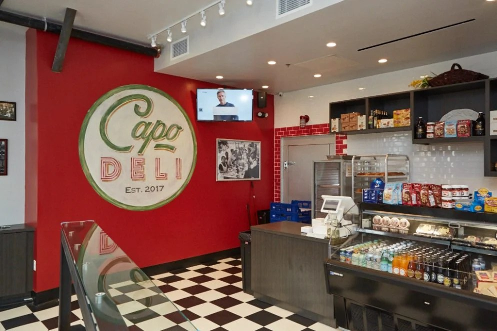 Theres a Secret Bar in the Back of Capo Italian Deli