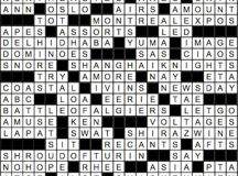 June 2017 Crossword Answer Key | Washingtonian