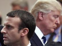 French President Emmanuel Macron Ate Tater Tots at Tonic ...