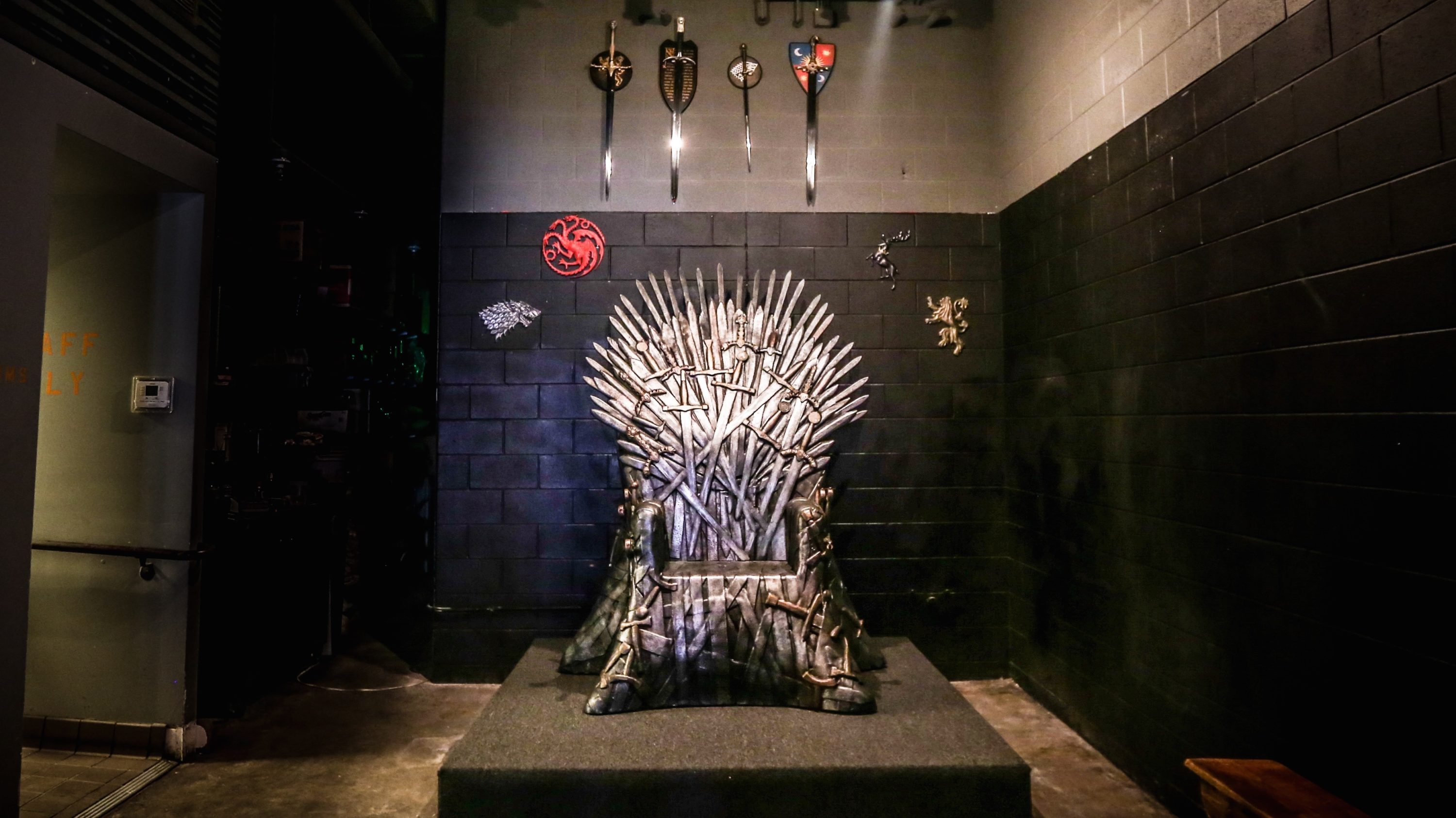 iron throne chair cover lounge chairs pool drink company will keep its but the return of game thrones pop up is uncertain