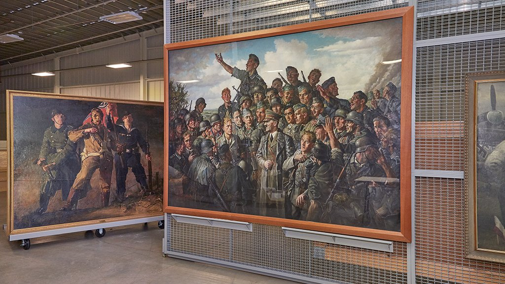 How A Trove Of Nazi Art Wound Up Under Lock And Key On An Army Base In Virginia Washingtonian Dc