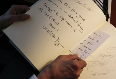 Michael Flynn Signs His Name with a Smiley Face
