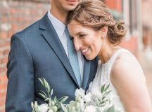 Engaged in December, Married in March: Melissa and Bogdan's Late Winter Wedding in Old Town Alexandria images 11