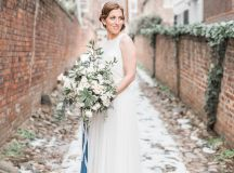 Engaged in December, Married in March: Melissa and Bogdan's Late Winter Wedding in Old Town Alexandria images 18