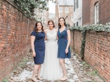 Engaged in December, Married in March: Melissa and Bogdan's Late Winter Wedding in Old Town Alexandria images 21