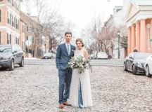 Engaged in December, Married in March: Melissa and Bogdan's Late Winter Wedding in Old Town Alexandria images 25