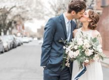 Engaged in December, Married in March: Melissa and Bogdan's Late Winter Wedding in Old Town Alexandria images 26