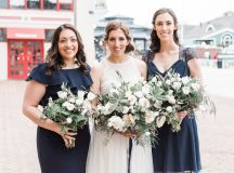 Engaged in December, Married in March: Melissa and Bogdan's Late Winter Wedding in Old Town Alexandria images 30
