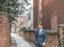 Engaged in December, Married in March: Melissa and Bogdan's Late Winter Wedding in Old Town Alexandria images 7