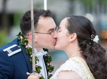 This Naval Officer Bride Unwittingly Smuggled Her Own Engagement Ring Overseas to Her Air Force Officer Groom images 15