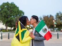 "Prelude to ""A Jamexican Fiesta"": Jorge And Minette's Playful Engagement Shoot at Oyamel images 22"