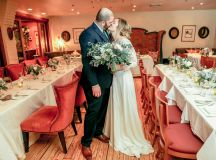 Restaurant eve sarah goodman umair khan jewish muslim wedding in Alexandria at Restaurant eve foodie wedding jewish-muslim wedding