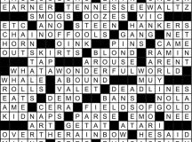February 2018 Crossword Answer Key | Washingtonian