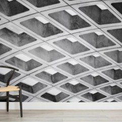 Chair Design Wallpaper Covers Cheapest Price You Can Make Your Walls Look Like A Metro Station S Ceiling Image Via Murals