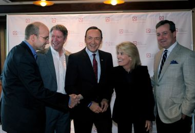 Flashback: Washington Parties With Kevin Spacey on the Eve of the Last Shutdown