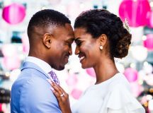 This Couple Eloped, Then Celebrated With Loves Ones With Dinner in Georgetown images 3
