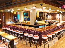 Players Club, arcade bar, Hilton brothers