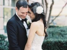 This Black-and-White Wedding Was the Perfect Blend of Vintage and Modern images 22
