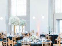 This Black-and-White Wedding Was the Perfect Blend of Vintage and Modern images 45