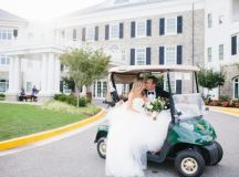 This Golf-Loving Couple Hit a Hole in One with an Elegant Army Navy Country Club Wedding images 25