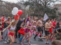 This Saturday, Prepare To See 1,000 Runners in Underwear in Downtown DC images 1