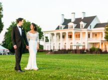 A DC Super-Couple Weds in a Flower-Filled Ceremony That ...